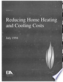 Reducing Home Heating & Cooling Costs