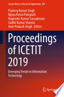 Proceedings of ICETIT 2019