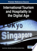 International Tourism and Hospitality in the Digital Age Book