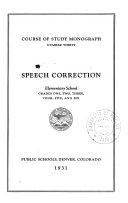 Speech Correction