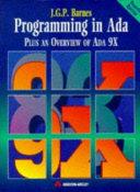 Cover of Programming in Ada