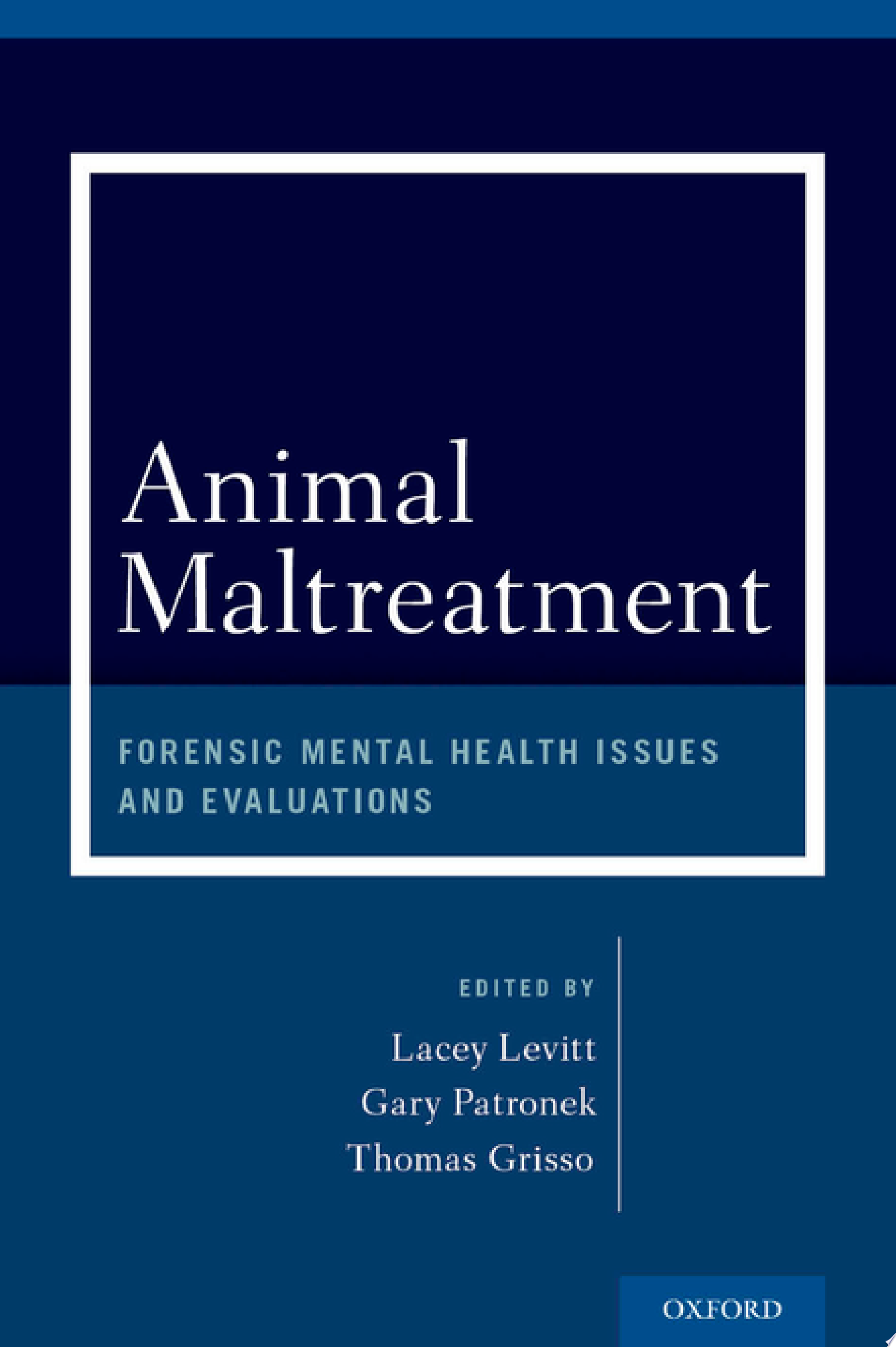 Animal Maltreatment