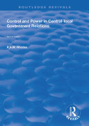 Control and Power in Central local Government Relations
