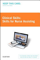 Skills For Nurse Assisting Access Card