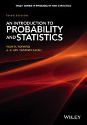 An Introduction to Probability Theory and Mathematical Statistics