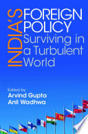 Book cover for India's foreign policy : surviving in a turbulent world