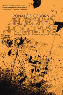 Anarchy and Apocalypse Book
