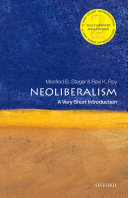 Neoliberalism  a Very Short Introduction