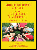 Applied Research in Child and Adolescent Development