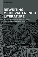 Rewriting Medieval French Literature