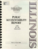 Public Accountability Report