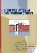Bioremediation Of Contaminated Soils Book PDF