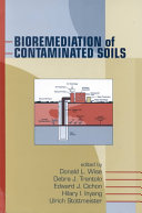 Bioremediation of Contaminated Soils