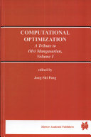 Computational Optimization Book