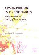 Adventuring in Dictionaries