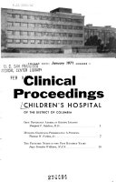 Clinical Proceedings   Children s Hospital of the District of Columbia Book