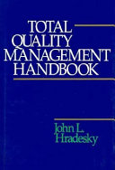 Total Quality Management Handbook