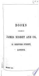 Books Published by James Nisbet and Co