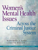 Women S Mental Health Issues Across The Criminal Justice System