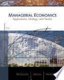 Cover of Managerial Economics: Applications, Strategies, and Tactics