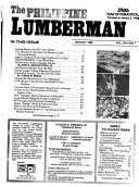 The Philippine Lumberman