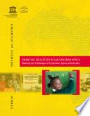 Financing Education in Sub-Saharan Africa