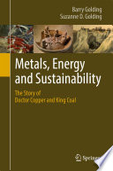 Metals  Energy and Sustainability Book