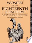 Women in the Eighteenth Century Book