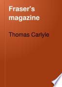 Fraser's Magazine Pdf/ePub eBook