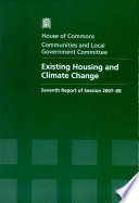 Existing Housing And Climate Change Book PDF