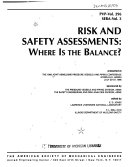 Risk and Safety Assessments Book