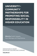 University Community Partnerships for Promoting Social Responsibility in Higher Education