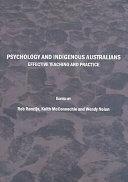 Psychology and Indigenous Australians