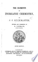 The Elements of Inorganic Chemistry Book PDF