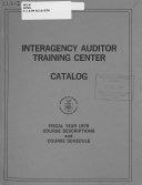 Catalog   Interagency Auditor Training Center