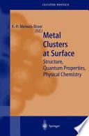 Metal Clusters At Surfaces Book PDF
