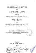 Christian Prayer and General Laws Book