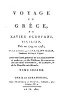 Voyage en Grece fait en 1794-1795. Trad. de l'italien par J. F. C. Blanvillain (etc.)