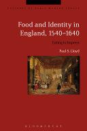 Food and Identity in England, 1540-1640 Pdf/ePub eBook