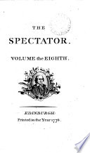 The Spectator By J Addison And Others  Book PDF