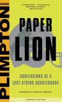 Paper Lion [Pdf/ePub] eBook