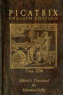 Picatrix, English Edition