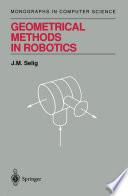 Geometrical Methods in Robotics Book