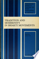 Tradition and Modernity in Bhakti Movements
