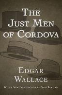 The Just Men of Cordova Book