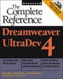 Cover of Dreamweaver UltraDev 4