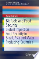 Biofuels and Food Security