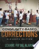 Community Based Corrections Book