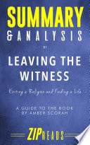 Summary   Analysis of Leaving the Witness