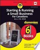 Starting And Running A Small Business For Canadians For Dummies All In One PDF